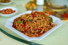 Китайская еда yangzou Стоковое Фото