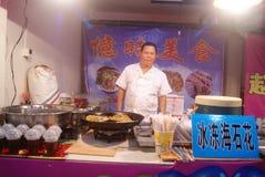 Китайская еда: блинчик Стоковое Изображение RF
