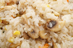 китайская еда величают овощи риса Стоковая Фотография