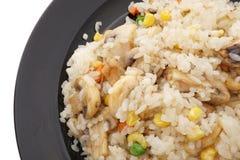 китайская еда величают овощи риса Стоковое Изображение