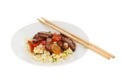 Китайская еда в шаре Стоковые Фотографии RF