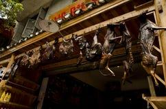 Китайская еда в Fenghuang (2) Стоковые Изображения RF