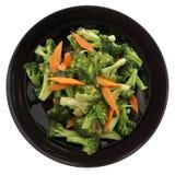китайская еда Зажаренный брокколи с овощами Стоковое Изображение RF