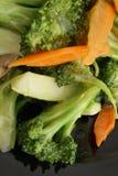 китайская еда Зажаренный брокколи с овощами Стоковая Фотография RF