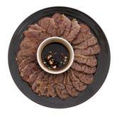 китайская еда Китайская мышца телятины Стоковое Изображение