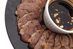 китайская еда Китайская мышца телятины Стоковая Фотография