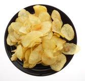 китайская еда обломоки изолировали белизну картошки Стоковые Фотографии RF