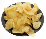 китайская еда обломоки изолировали белизну картошки Стоковое фото RF