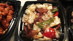 Китайская еда поставки, 3 блюда Стоковые Фотографии RF