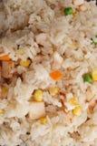 китайская еда Рис с ветчиной и овощами Стоковые Изображения RF
