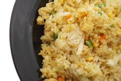 китайская еда Рис с карри и овощами Стоковое Фото