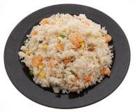 китайская еда Рис с креветками и овощами Стоковое Изображение RF
