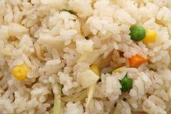 китайская еда Рис с овощами Стоковая Фотография