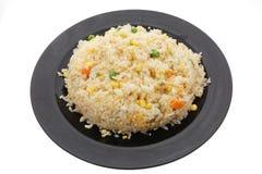 китайская еда Рис с яичками и овощами Стоковые Фото