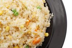 китайская еда Рис с яичками и овощами Стоковая Фотография