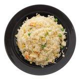 китайская еда Рис с яичками и овощами Стоковое Изображение RF