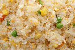 китайская еда Рис с яичками и овощами Стоковые Изображения RF