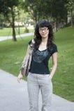 китайская женщина Стоковое Изображение
