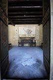 китайская живущая комната традиционная стоковые изображения rf
