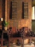 китайская живущая комната стоковое изображение
