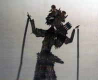 Китайская игра тени стоковое фото