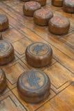 Китайская игра шахмат Стоковая Фотография