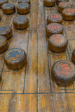 Китайская игра шахмат Стоковое Фото