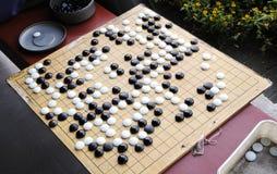 Китайская игра шахмат Стоковое Изображение
