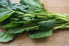 Китайская листовая капуста, свежий овощ Стоковые Фото
