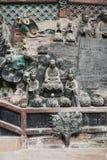Китайская историческая архитектура, культурное наследие мира Стоковые Фото