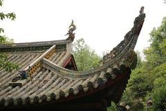 Китайская историческая архитектура, культурное наследие мира Стоковые Изображения