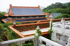 Китайская историческая архитектура Стоковое Фото