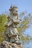 Китайская каменная скульптура Стоковые Изображения