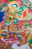 Китайская картина бога Стоковые Изображения RF