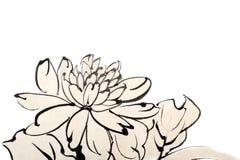 китайская картина иллюстрация штока