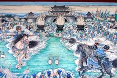 китайская классическая картина Стоковое Изображение RF