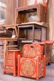 китайская классическая мебель Стоковые Фотографии RF