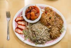 Китайская комбинация еды стоковые фотографии rf