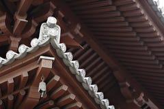Китайская крыша виска Стоковые Изображения RF