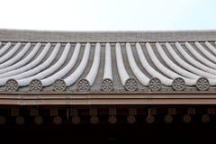 Китайская крыша виска Стоковая Фотография