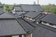 Китайская крыша деревни Стоковые Изображения