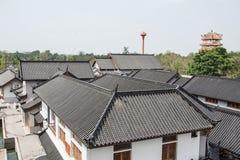 Китайская крыша деревни Стоковые Фото