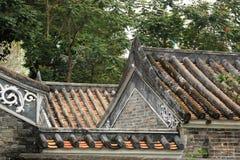 Китайская крыша здания Стоковые Изображения RF