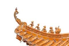 китайская крыша традиционная Стоковое фото RF