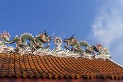 китайская крыша Стоковая Фотография RF