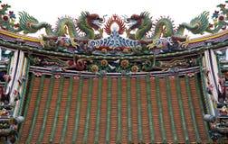 китайская крыша Стоковые Изображения
