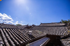 китайская крыша Стоковые Изображения RF