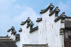 китайская крыша Стоковые Фотографии RF
