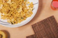Китайская кухня - жареный рис стоковые фотографии rf