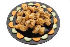 китайская кухня китайская еда Зажаренные сухие нервюры свинины Стоковая Фотография RF